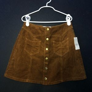 Size 23 Kendall & Kylie Cord Skirt!
